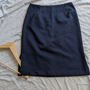 Dresses & Skirts - 🔥Navy pencil skirt with side slits